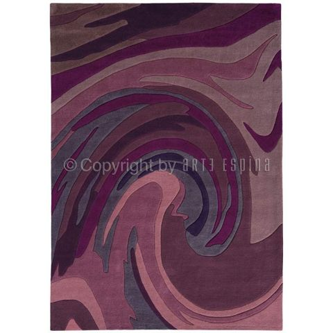 "Tapis Arte Espina ""Action Painting"" Violet"