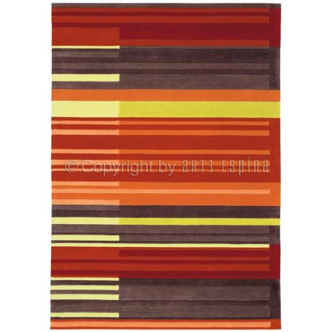 "Tapis Arte Espina ""Colour Codes"" Orange"