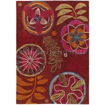 "Tapis Arte Espina ""Tropical Passion"" Rouge"