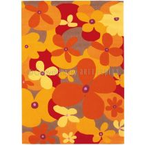 "Tapis Arte Espina ""Colourful Summer"" Jaune"