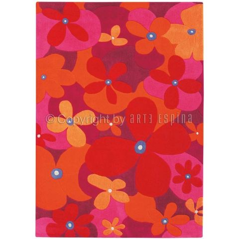 "Tapis Arte Espina ""Colourful Summer"" Rose"