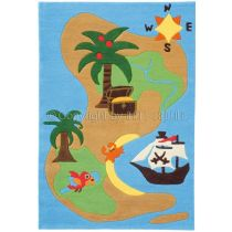 "Tapis Arte Espina ""Kids Pirates"" Multicolore"