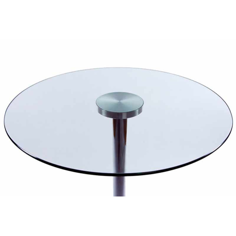 Table d 39 appoint roll transparente for Table d appoint transparente