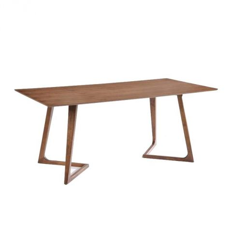 "Table de Repas 200cm ""Kenaz"" Marron"
