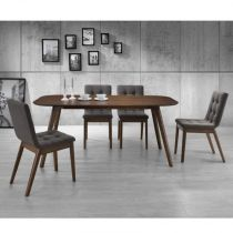 "Table de Repas ""Terra"" 180cm Marron"