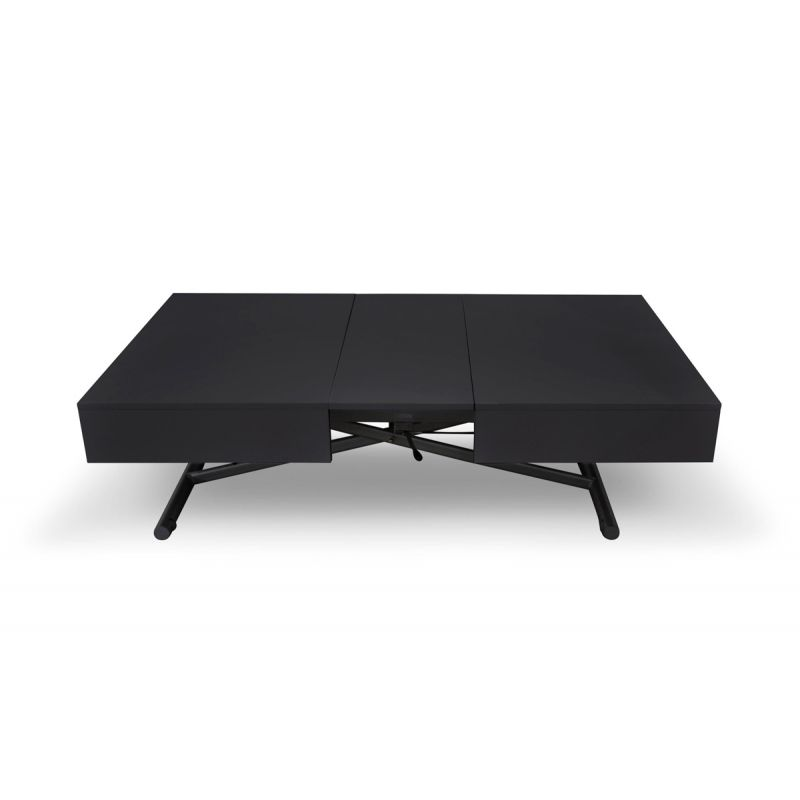 Table Relevable Noir 190cm 120 Mat Basse Lift m8nOvN0wy