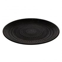 "Centre de Table Rond ""Jungle Africa"" 40cm Noir"