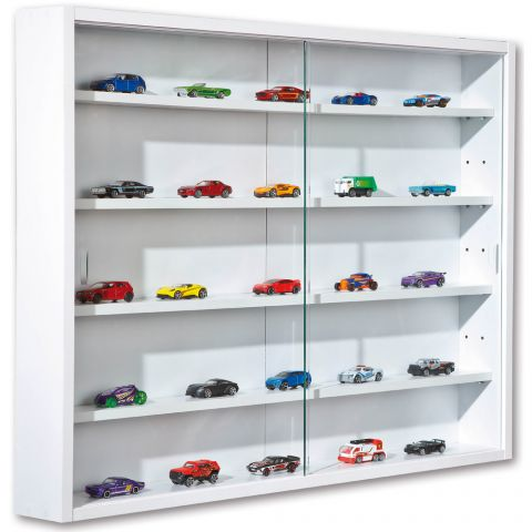 "Vitrine Murale Miniatures ""Collection"" 80cm Blanc"