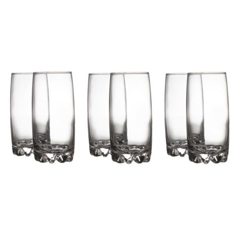"Lot de 6 Verres ""Sylvana"" Transparent"