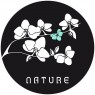 "Sticker Zen ""Nature"" Noir"