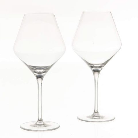 "Lot de 2 Verres à Vin ""Grand Cru"" 660ml Transparent"