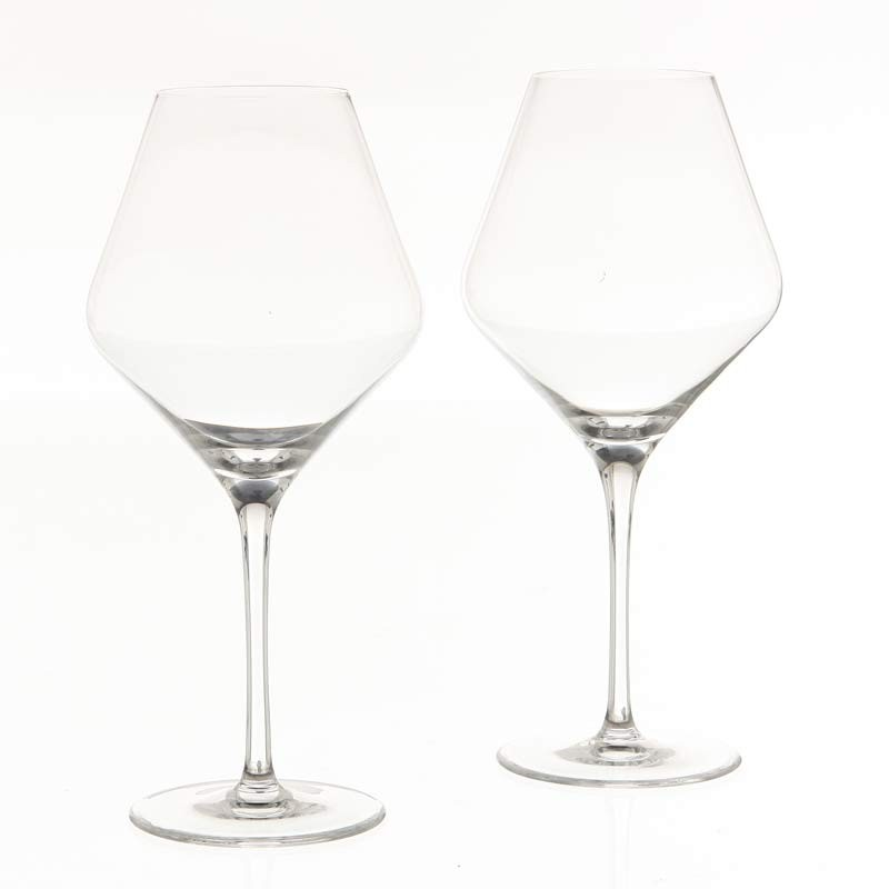 lot de 2 verres vin grand cru 660ml transparent. Black Bedroom Furniture Sets. Home Design Ideas