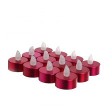 12 Bougies Led Rose