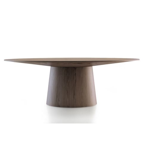 "Table à Manger Ovale Design ""Bella"" 220cm Naturel"