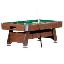 "Table de Billard ""Atlanta"" 212cm Wengé & Vert"