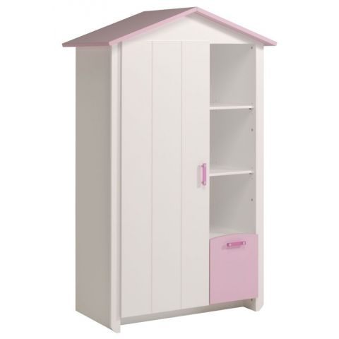 "Armoire Cabine ""Lily"" Blanc"