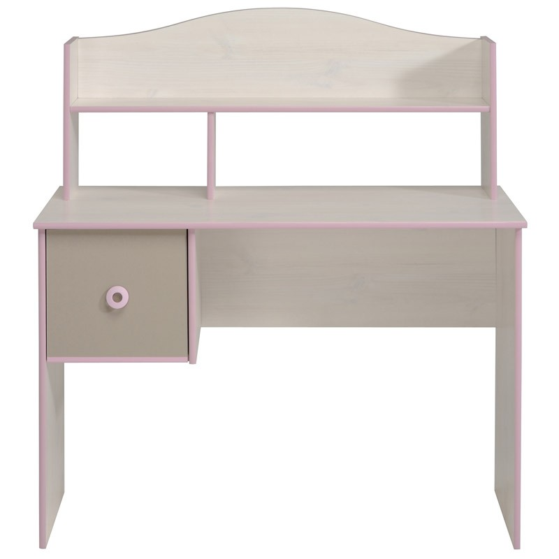 bureau enfant dream rose. Black Bedroom Furniture Sets. Home Design Ideas