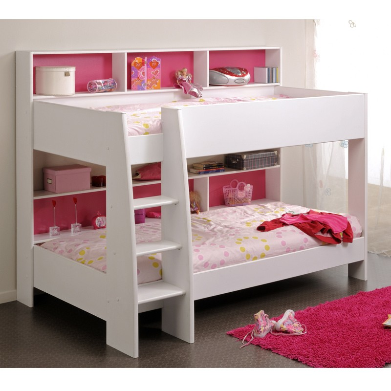 lit superpos enfant jaipur blanc. Black Bedroom Furniture Sets. Home Design Ideas