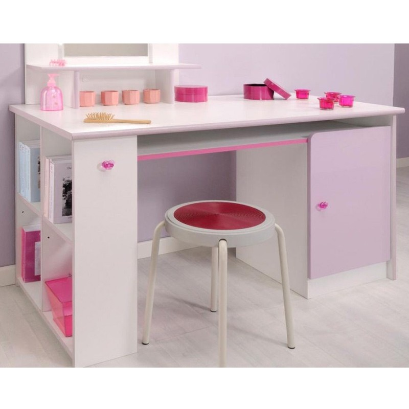 bureau enfant girly blanc. Black Bedroom Furniture Sets. Home Design Ideas