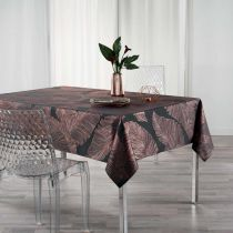 "Nappe Rectangle ""Veggy"" 150x300cm Anthracite"
