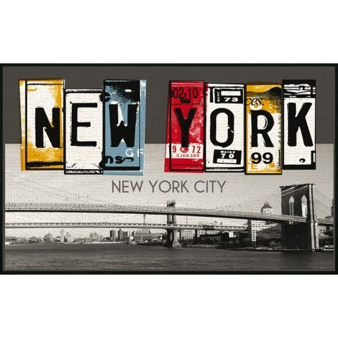 "Tapis 50x80cm ""New York Winter"""