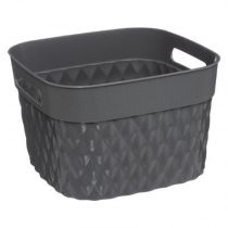 "Panier Multi-Usages ""Disco"" 20cm Gris"
