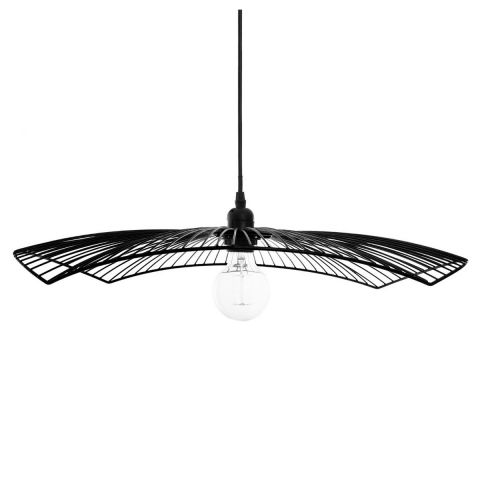 "Suspension Design en Métal ""Cuzco"" 58cm Noir"