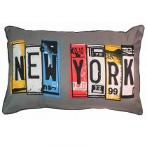 "Coussin 30x50cm ""New York Winter"""