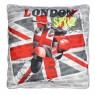"Coussin 40x40cm ""British Style"""