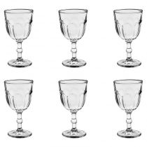 "Lot de 6 Verres à Vin ""Roma"" 31cl Transparent"