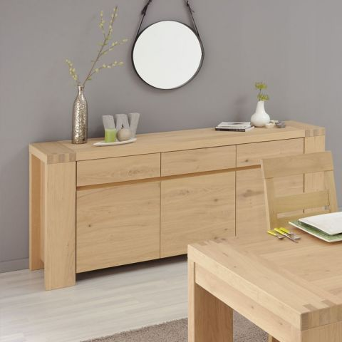 "Buffet  3 Portes ""Dune"" Naturel"