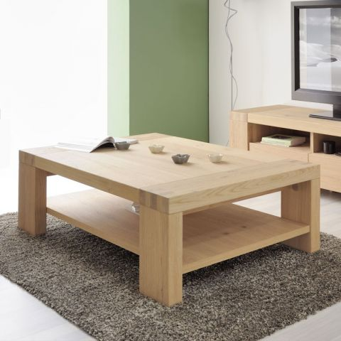"Table Basse ""Dune"" Naturel"