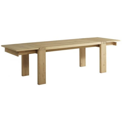 "Lot de 2 Allonges pour Table ""Dune"" Naturel"