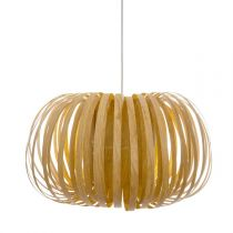 "Lampe Suspension Design ""Sien"" 46cm Naturel"