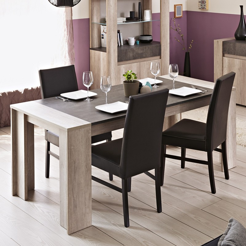 table de repas tim o naturel. Black Bedroom Furniture Sets. Home Design Ideas