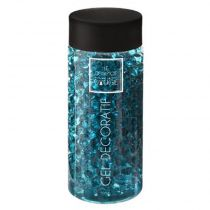 "Gel Vase ""Crystal"" 500ml Bleu"