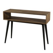"Console Scandinave Design ""Wangle"" 100cm Naturel"