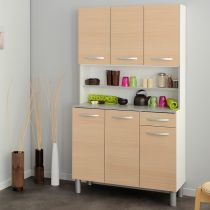 "Buffet de Cuisine ""Smarty"" 101cm Naturel"