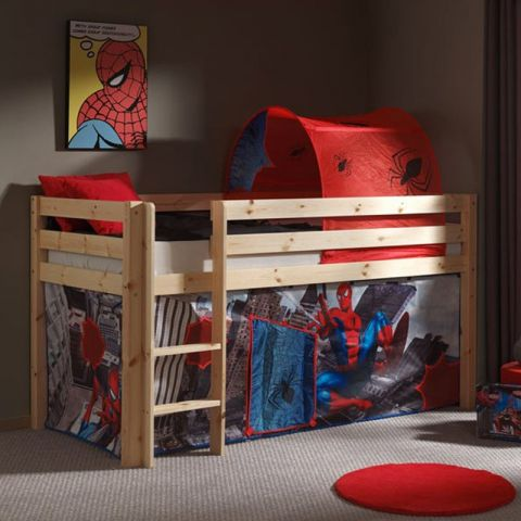 tente tunnel pour lit spiderman. Black Bedroom Furniture Sets. Home Design Ideas