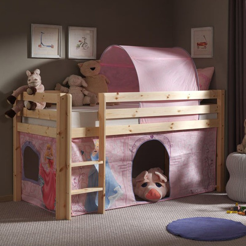 tente tunnel pour lit disney princesse. Black Bedroom Furniture Sets. Home Design Ideas