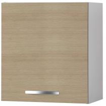 "Meuble Haut 1 porte 60cm ""Smarty"" Naturel"