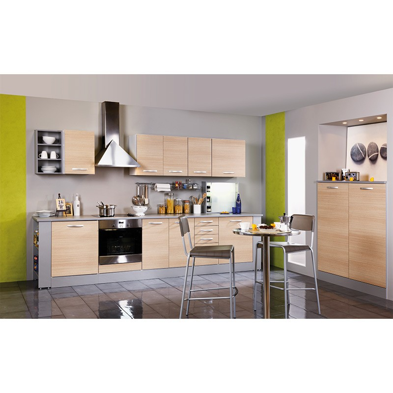 Meuble Bas 2 Portes 120cm Smarty Naturel