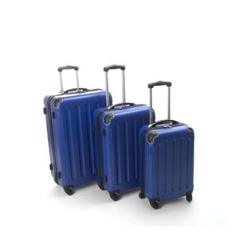 Set de 3 Valises Bleu