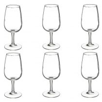 "Lot de 6 Verres à Vin ""Viticole"" 21cl Transparent"