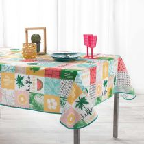 "Nappe Rectangulaire ""Sweet Paradise"" 150x240cm Multicolore"