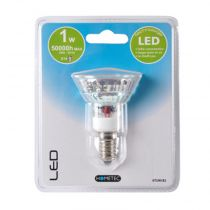 "Ampoule 15 Led ""E14"" 13cm Transparent"