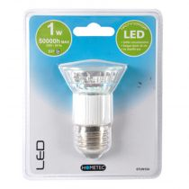 "Ampoule 15 Led ""E27"" 13cm Transparent"