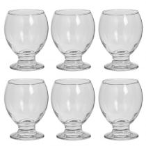 "Lot de 6 Verres à Vin ""Enric"" 28cl Transparent"