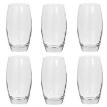 "Lot de 6 Gobelets en Verre ""Cesari"" 51cl Transparent"