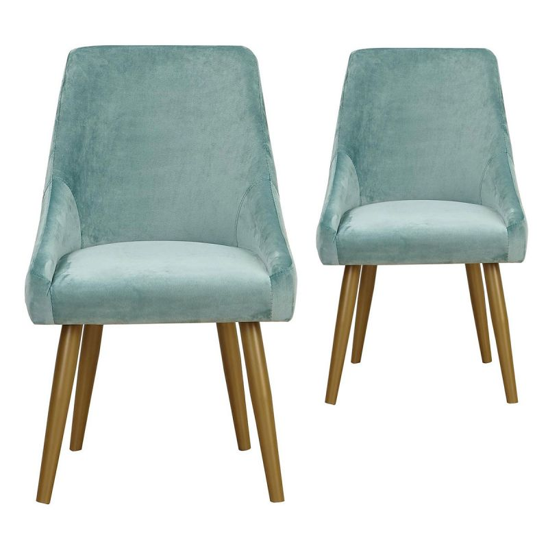 Lot de 2 Fauteuils en Velours